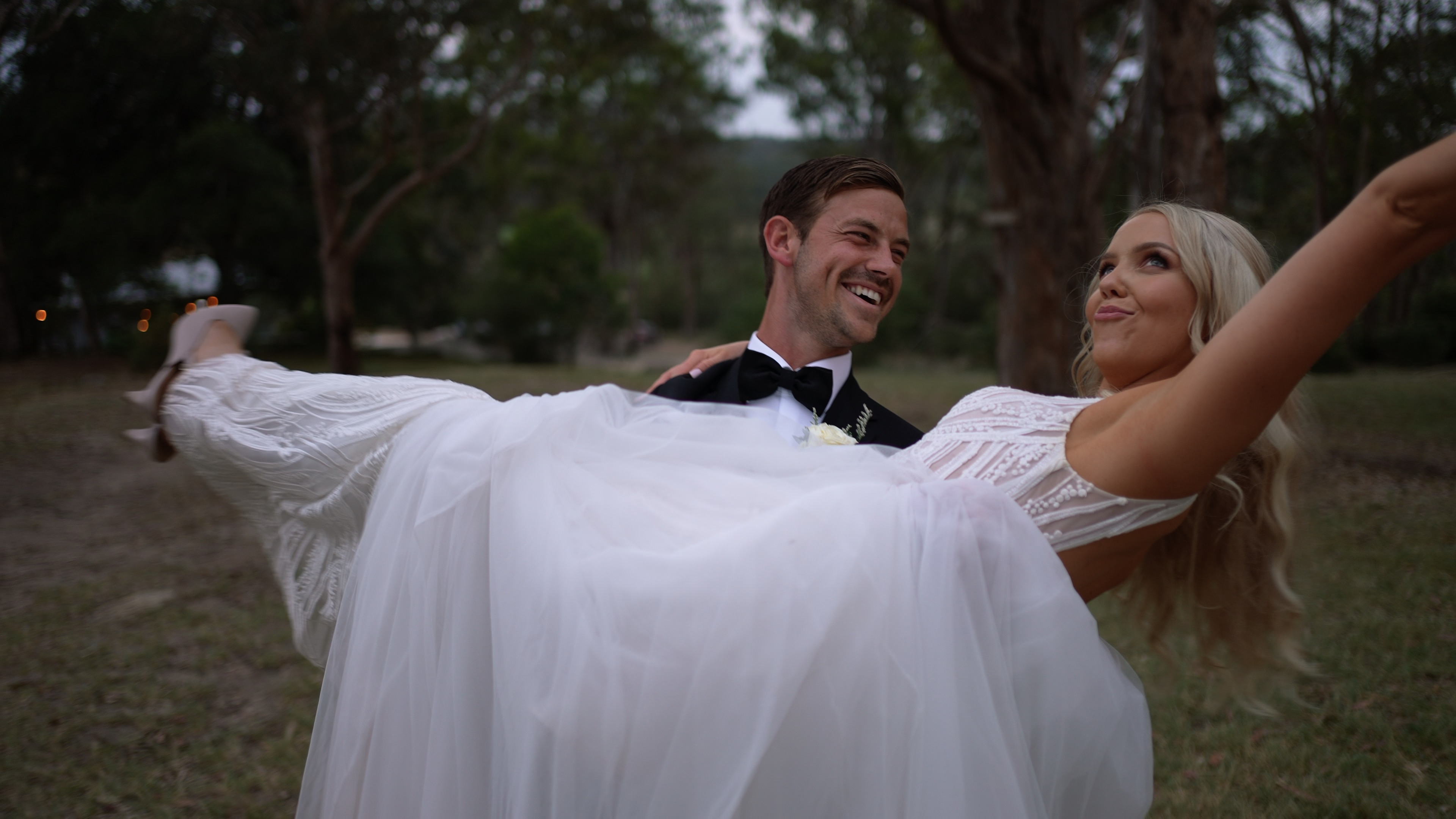 Romantic rustic Australian wedding