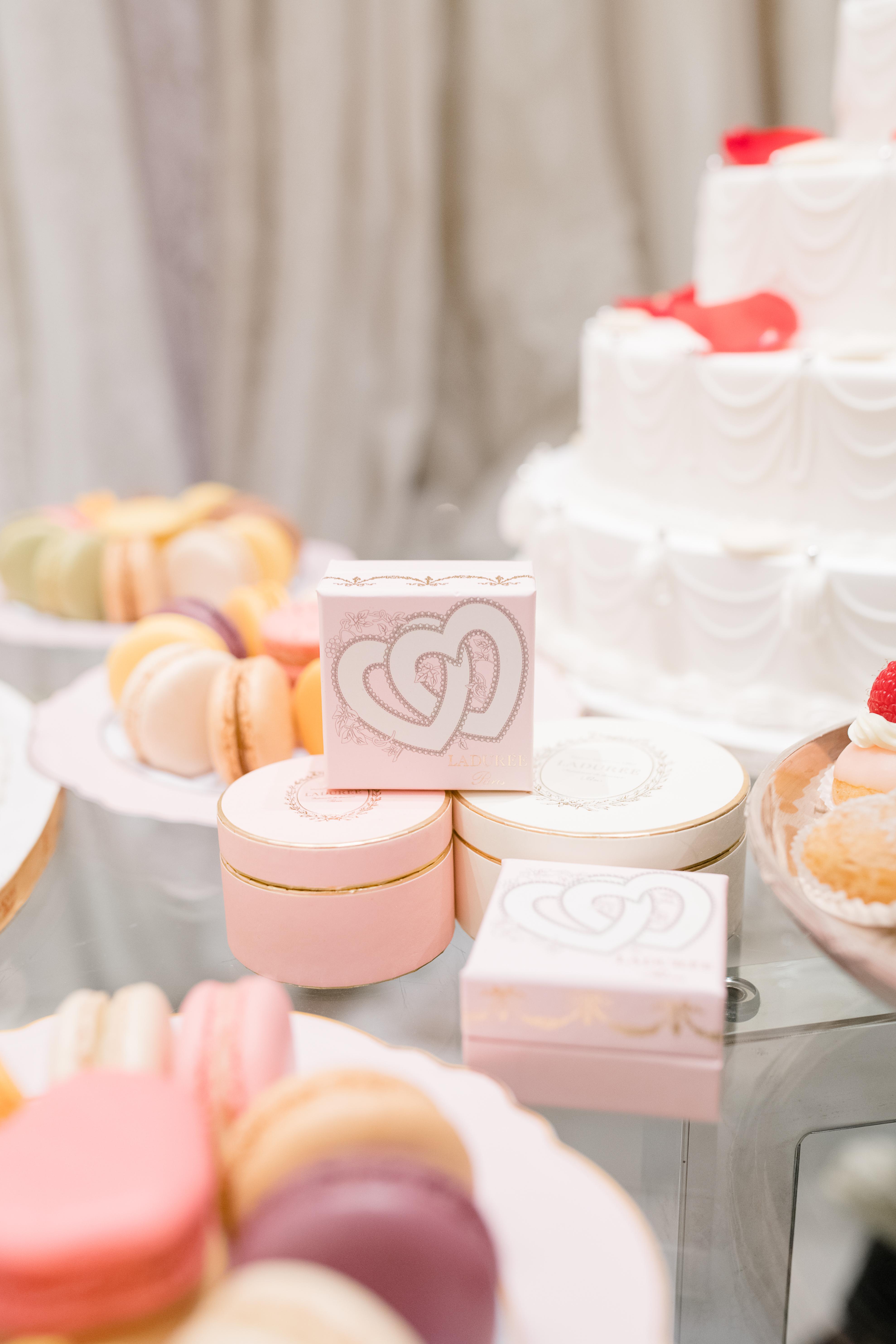 Wedding event desserts