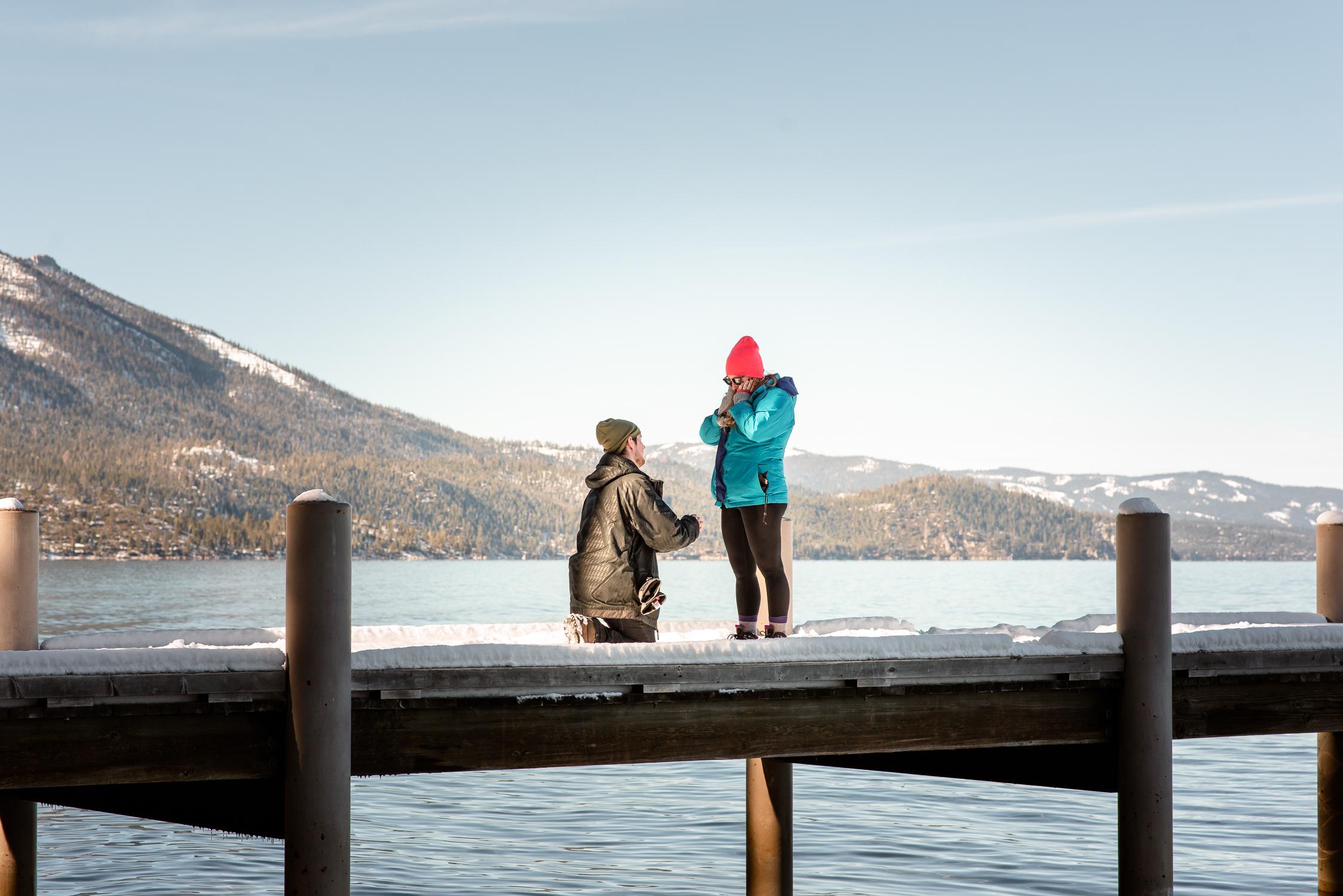 Lake Tahoe winter proposal